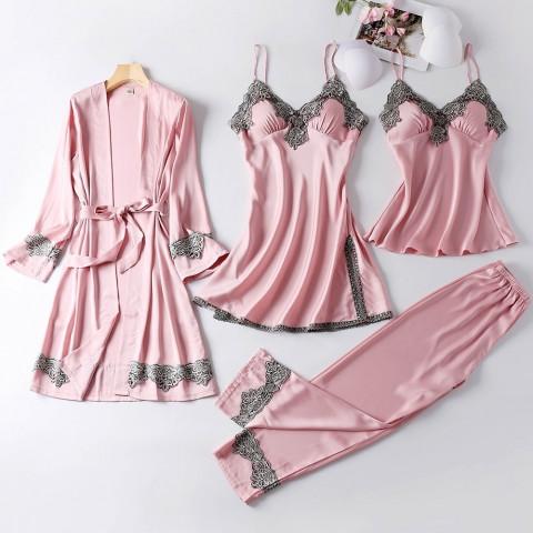 Sleepwear Lady Pajamas  Homewear Nightgown