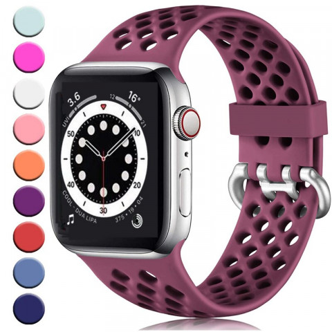 bands for apple watch 6 SE 5 4 38MM 42 mm Band silicone replacement  accessories